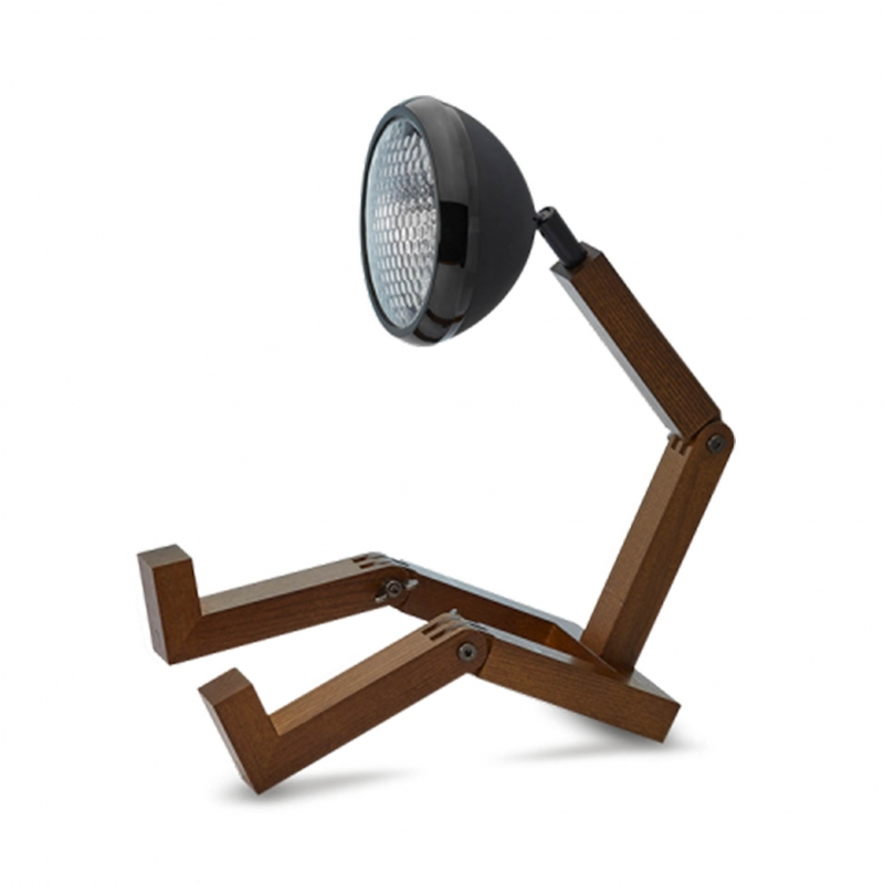 Lampe Mr. Wattson Noir mat   Moinat SA   Antiquités décoration