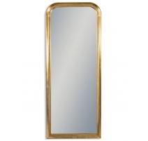 Miroir à poser doré