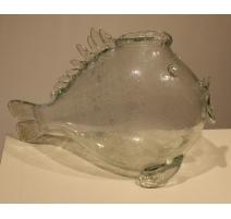 "Vase ""Poisson"" de Murano"
