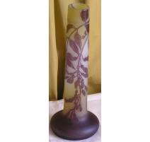Vase of GALLÉ, purple.