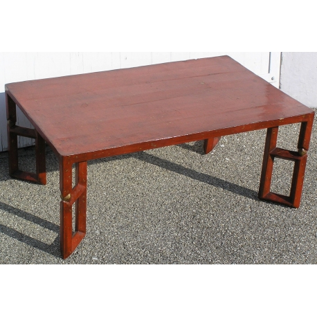 Table Basse Rouge.