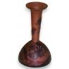 Vase de GALLÉ, à col étroit.