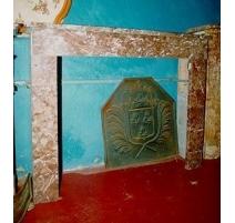 Cheminée Louis-Philippe en marbre rouge