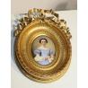 """Miniature """"Marie DuBois-Melly"""" signé C. GLARDON"""