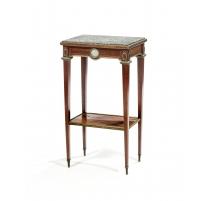 Table de salon néoclassique à un tiroir