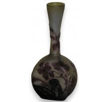 Vase soliflore of GALLÉ.