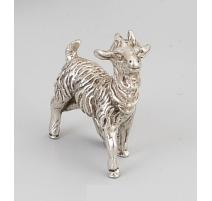 Chèvre en argent 800