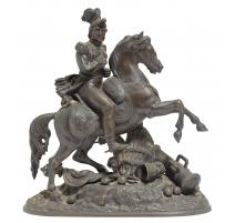 "Bronze ""Cavalier victorieux"""