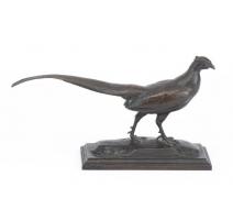 Bronze Faisan signé BARYE