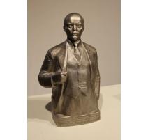 Buste de Camarade Lénine en Silumin