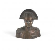 Buste de Napoléon en régule