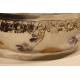 Coupe Art Nouveau en verre et argent