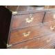 Commode de bateau Edwardienne à 5 tiroirs