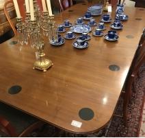 Table de salle à manger en acajou