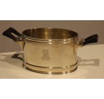 Tea set by Pochon, monogrammed