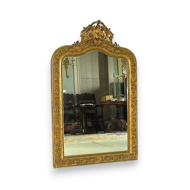 miroir louis philippe sur moinat sa antiquit s d coration. Black Bedroom Furniture Sets. Home Design Ideas