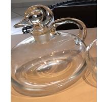 Carafe bouchon canard en verre