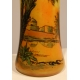 "Vase tube ""Paysage oriental"" signé LEGRAS"