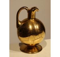 Pichet en verre doré de Saint-Prex