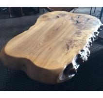 Table basse en ronce