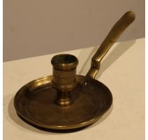 Bougeoir de chevet en bronze