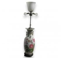Vase lampe 3 lumières
