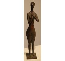 "Bronze ""Femme"" signé P. SIEBOLD 63"