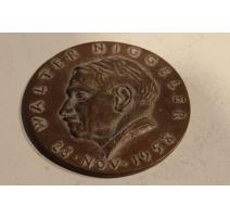 "Médaille ""Walter Niggeler"" en bronze"