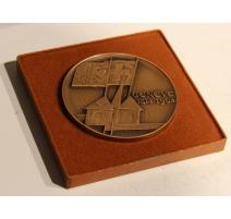 Médaille 150 ans Genève en bronze par HUGUENIN