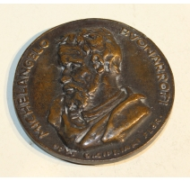 Médaille de Michelangelo Buonarroti
