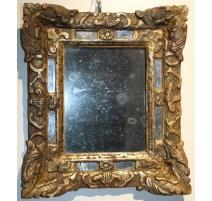 Miroir Louis XV à parecloses