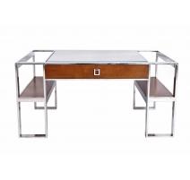 Table basse Aston, dessus verre