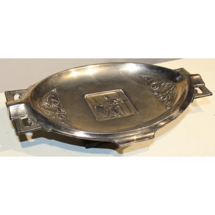 """Coupe ovale """"Art-Nouveau"""" sur pied"""
