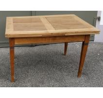 Table Directoire avec deux rallonges