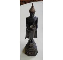 Bronze Bouddah debout avec bol