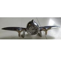 """Pendule de bureau Art Deco """"Avion"""" (d'occasion)"""