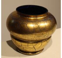 Vase de Saint-Prex doré (Col meulé)