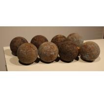 Jeux de Boccia, 8 boules et un cochonet