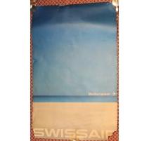 Poster Mediterranean SWISSAIR