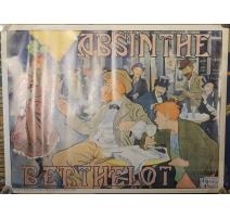 Poster Absinthe Berthelot par Henri THIRIET