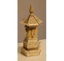 Temple enfermant un bouddah