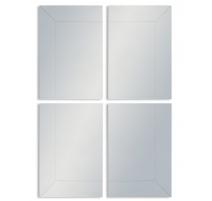 Grand miroir en 4 éléments