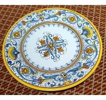 Assiette en faïence de Grazia-Deruta