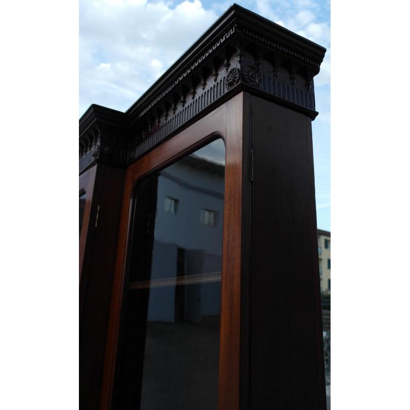 biblioth que avec 8 portes sur moinat sa antiquit s. Black Bedroom Furniture Sets. Home Design Ideas