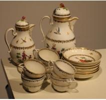 Service à café en porcelaine de Vienne