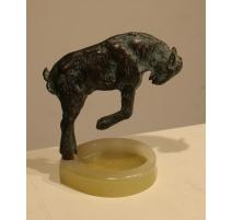 """Bronze """"Cabri"""" de Pierre LAUREL"""