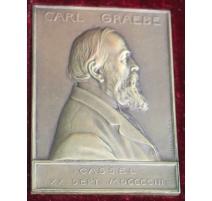 """Médaille """"Carl GRAEBE"""" signée Hans FREI"""