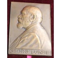 "Médaille ""Georg LUNGE"" signée Hans FREI"