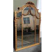 Miroir Napoléon III triptyque