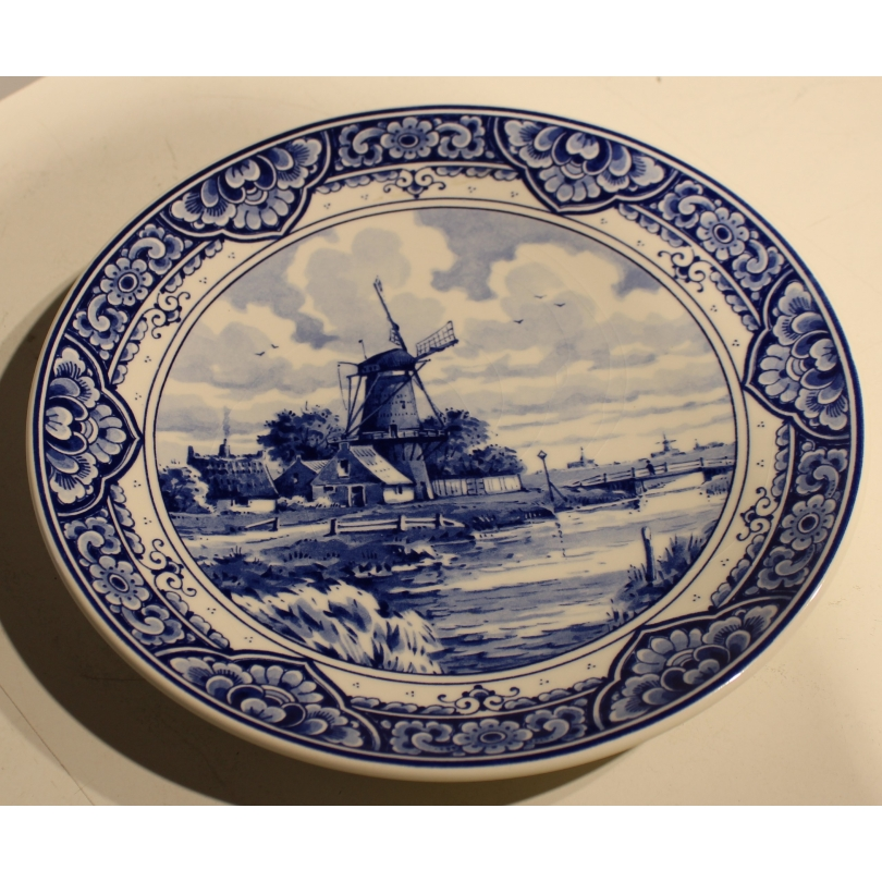 "Assiette ""Delftsblauw"" 345.24"